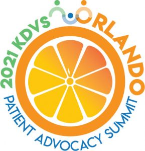 KdVS 2021 Patient Advocacy Summit Logo