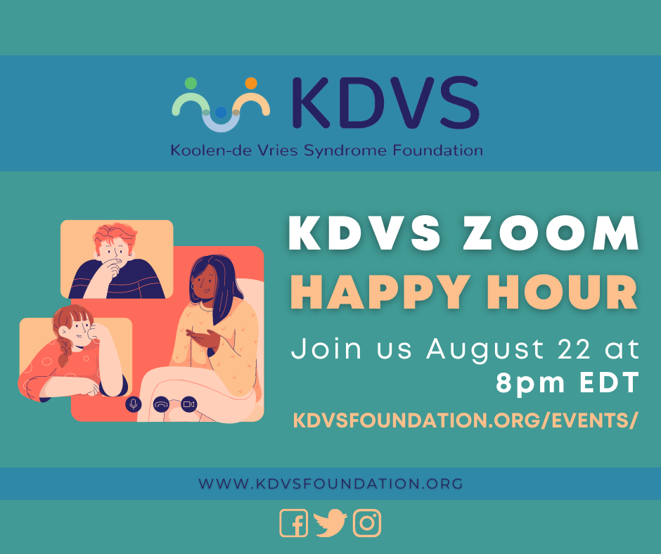 KdVS Zoom Happy Hour graphic